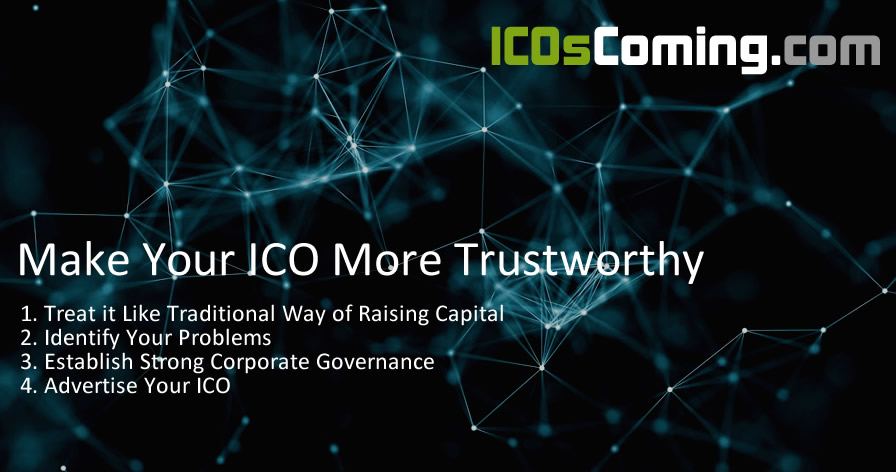 Four Ways to Make Your ICO More Trustworthy